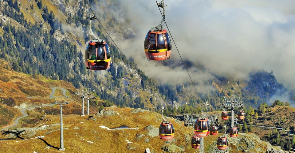 Kitzsteinhorn-cable-cars